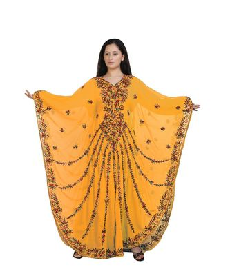 NEW HAND EMBROIDERY WORK BY AL MEHRAAN FASHION FOR WOMEN GOWN
