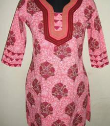 Buy Cotton kurti kurtas-and-kurti online