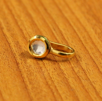 White Pearl Nose-Ring