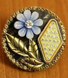 Blue Zircon       Brooch
