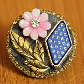 Pink Zircon       Brooch