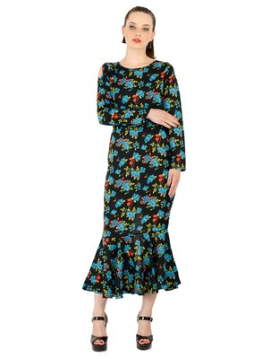 Women's Crepe MultiColour Casual Dress