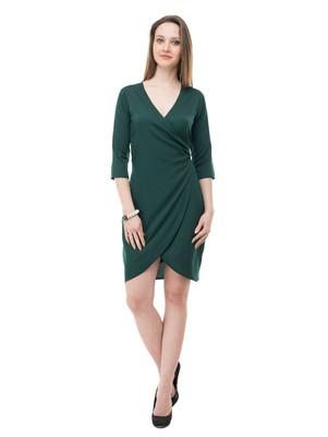 Women's Green Body ConShort Dress