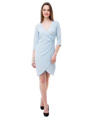 Women's blue Body ConShort Dress