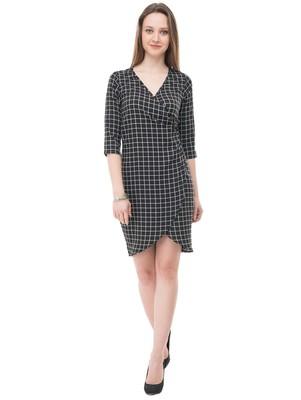 Women's Black BodyCon Short Dress