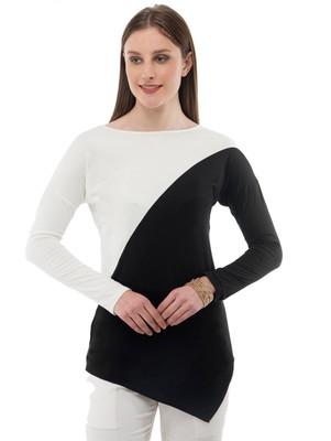 Women's Viscose Black Casual Top