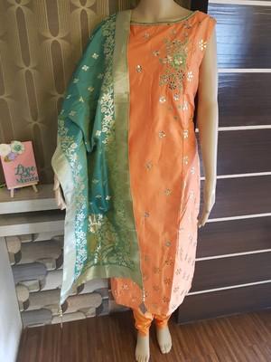 Beautiful Party wear Stiched Salwar kameez