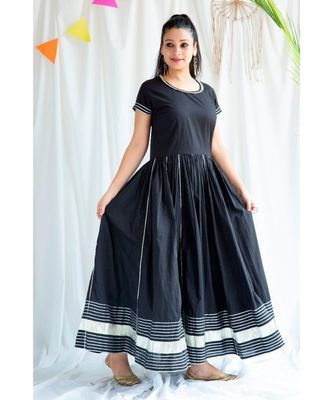 Lisa cotton Long Dress