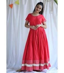 Melody cotton Long Dress