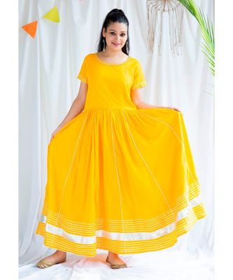 Roohi cotton Long Dress