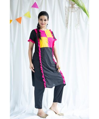 Ayesha cotton Kurta and Pant Set