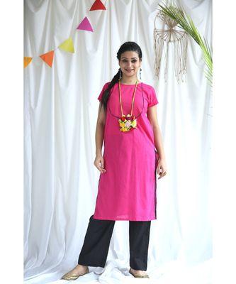 Kriti cotton Kurta and Pant Set