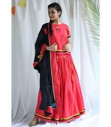 Lali cotton Ghaghra Choli