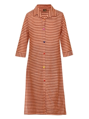 long sleeved striped kurti