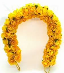 Yellow hair-accessories