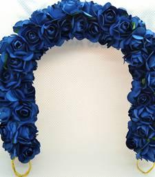 Blue hair-accessories