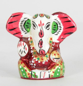 Handcraft Red Coloured Lord Ganesha For Home Decor