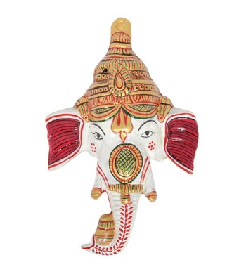 Handcraft Lord Ganesha White Coloured For Home Decor