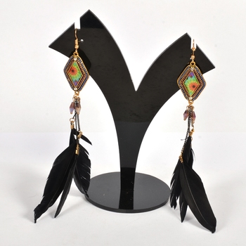 Traditional and Elegant Feather Earrings for Women and Girls