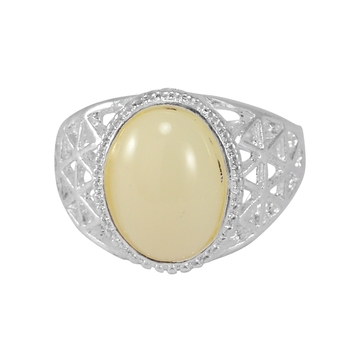 White quartz rings