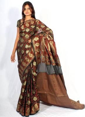 Banarasi Georgtte silk patola saree