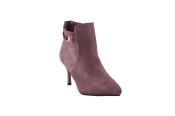 Women purple  suede ankle   Boots