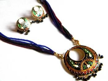 minakari necklace sets