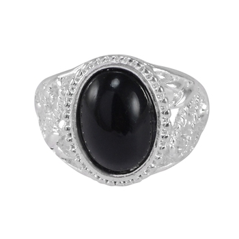 Black quartz  rings