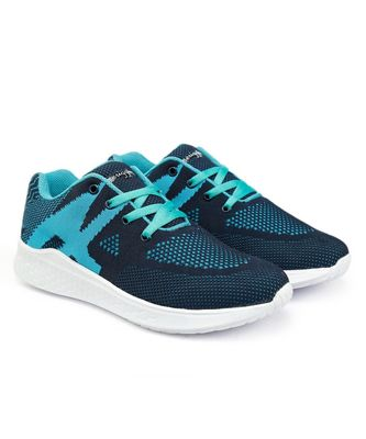 Women Flyknit Blue Sports Shoes Sneakers