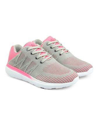 Women Flyknit Grey Sports Shoes Sneakers