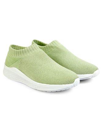 Women Flyknit green Sports Shoes Sneakers