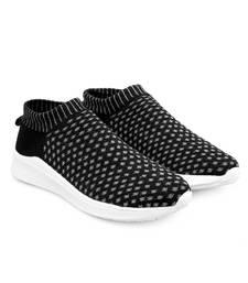 Women Flyknit Black Sports Shoes Sneakers