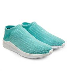 Women Flyknit Sea Green Sports Shoes Sneakers