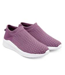 Women Flyknit purple Sports Shoes Sneakers