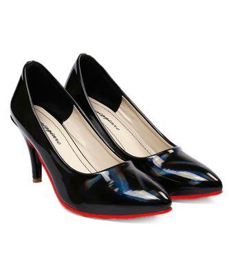 Women Black Pumps Stiletto