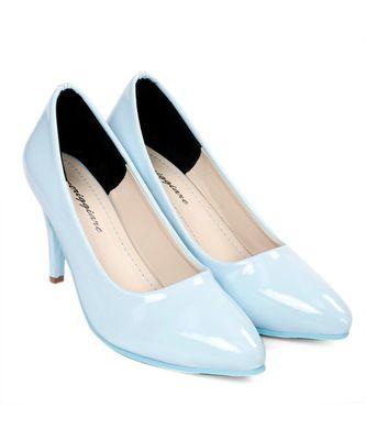 Women turquoise Pumps Stiletto