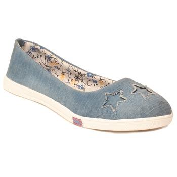 women Canvas Blue shoes