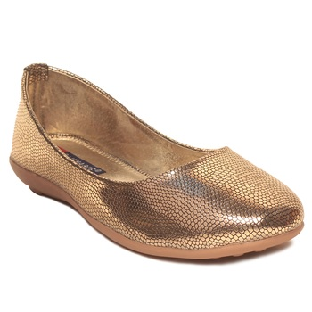women Synthetic Gold Bellies