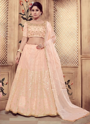 Peach plain