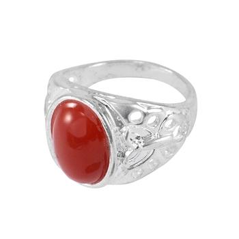 Red crystal rings