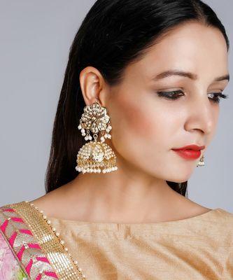 Basra Pearls Jhumki