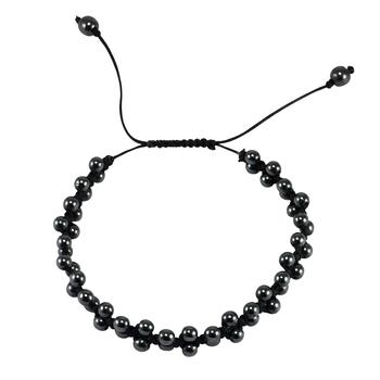 Grey crystal bracelets