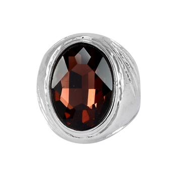 Purple crystal rings