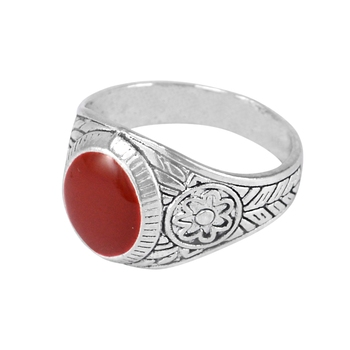 Red crystal rings