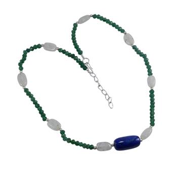 Multicolor lapis lazuli necklaces