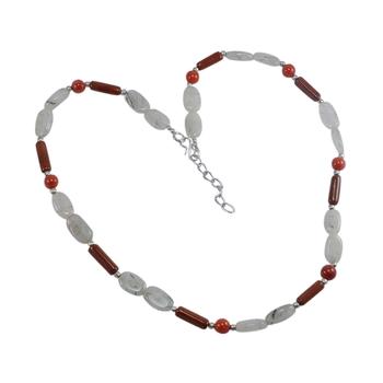 Multicolor coral necklaces
