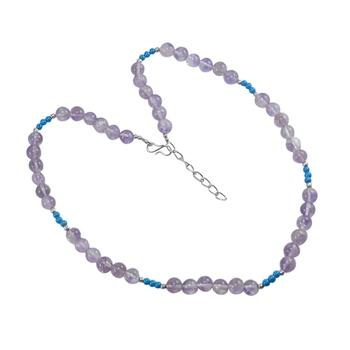 Multicolor amethyst necklaces