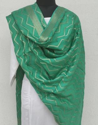 Green Viscose Dupatta