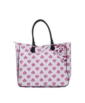 Indian Handmade cotton Pink Mandala Sholder Bag