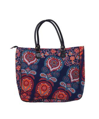 Indian Handmade cotton Purple Mandala Sholder Bag